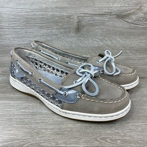 Sperry Angelfish Cane Women's Boat Shoes Size 8